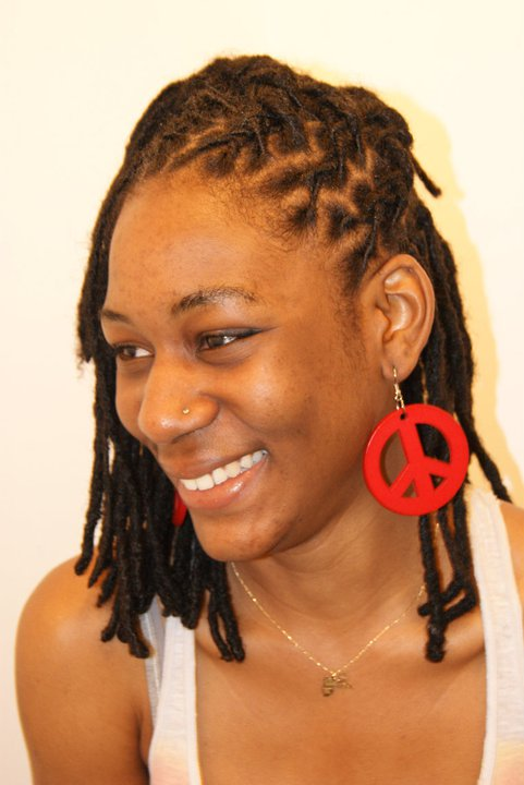Gold Coast afro hair maintenance dreads style