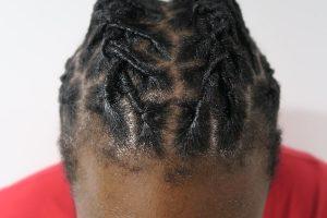 afro hair retwist style locs gold coast